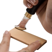 2019 Ebony Leather Edge Creaser Leathercraft Marking Edge Decorate Line Tool Stainless Steel Blade Shallow Groove Press Line