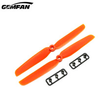 1 Pair WSX/Gemfan5040 5×4 Inch 6030 6.0×3.0 ABS Propeller for RC Drone FPV Racing Orange/Green Accs for DIY Quad Multicopter