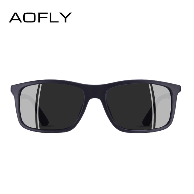 AOFLY BRAND DESIGN Classic Polarized Sunglasses Men TR90 Square Frame Sun Glasses Male Driving Goggles UV400 Eyewear AF8082 2