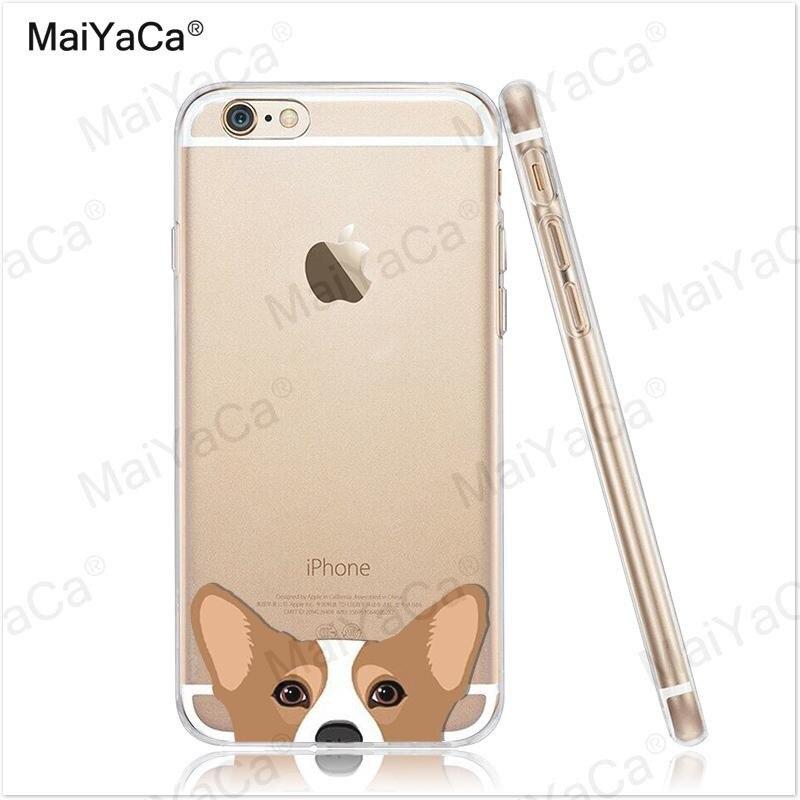 MaiYaCa pet dog Soft Transparent TPU Phone Case Case Cover Cover For - Ανταλλακτικά και αξεσουάρ κινητών τηλεφώνων - Φωτογραφία 4