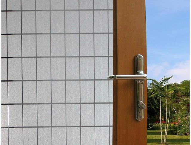 45 CM x 50 M PVC Glas Film Mode Opaque Window Sticker Moderne ...
