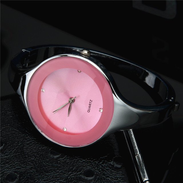 2018 Fashion Women Watch Brand Kimio Stainless Steel Bangle Watch Quartz Simple Casual Reloje Female Rhinestone WristWatch Clock