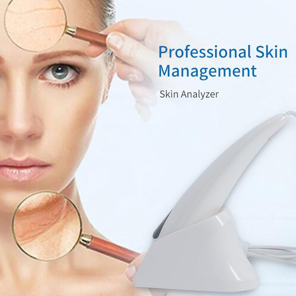 2017 new professionale software di gestione della pelle, può aggiungere prodotti di bellezza. epidermide/derma/uv triplo strato di analisi della pelle
