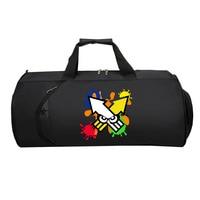teenagers Suitcase Large Multifunction Shoulder Tote Bag Men Travel luggage bag Handbag Luggage bag for Game anime Splatoon