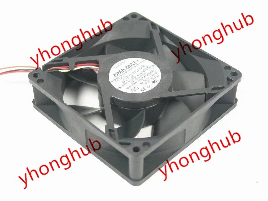 NMB-MAT 3610VL-05W-B66, B01 DC 24V 0.37A, 90x90x25mm Server Square fan sw 05w
