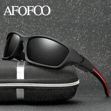 AFOFOO Homens Polarizada óculos de Sol de Design Da Marca Homens Óculos de  Visão Noturna Óculos c526789423