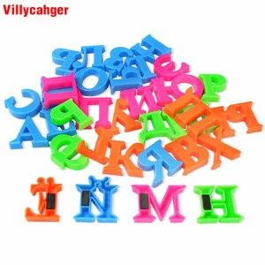 Image 5 - Juego de pegatinas magnéticas de 2CM para niños, rompecabezas con letras rusas, colores para nevera, juguete de aprendizaje, regalo educativo para niños, 33 unidades