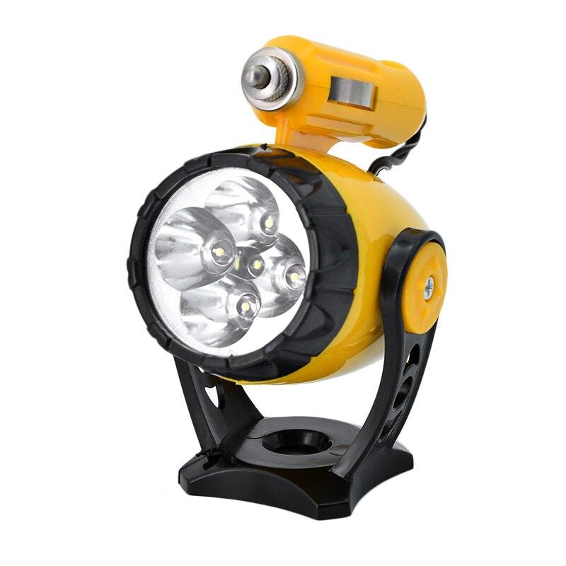 12v auto car led light 5LEDs Car Emergency Lights Cigarette Lighter with Magnetic holder CAR working light