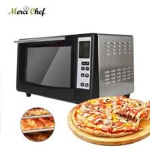 ITOP электрическая печь для пиццы, пекарня, жаровня, многофункциональная печь для приготовления хлеба, торта, пиццы, интеллектуальная с таймером