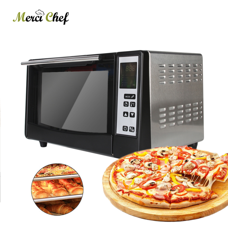 ITOP Electric Pizza Oven Bakery Roaster Oven Multifunction For Making Bread Cake Pizza Intelligent With Timer ep1st hot sale electric pizza baking bakery oven with timer for commercial use for making bread cake pizza