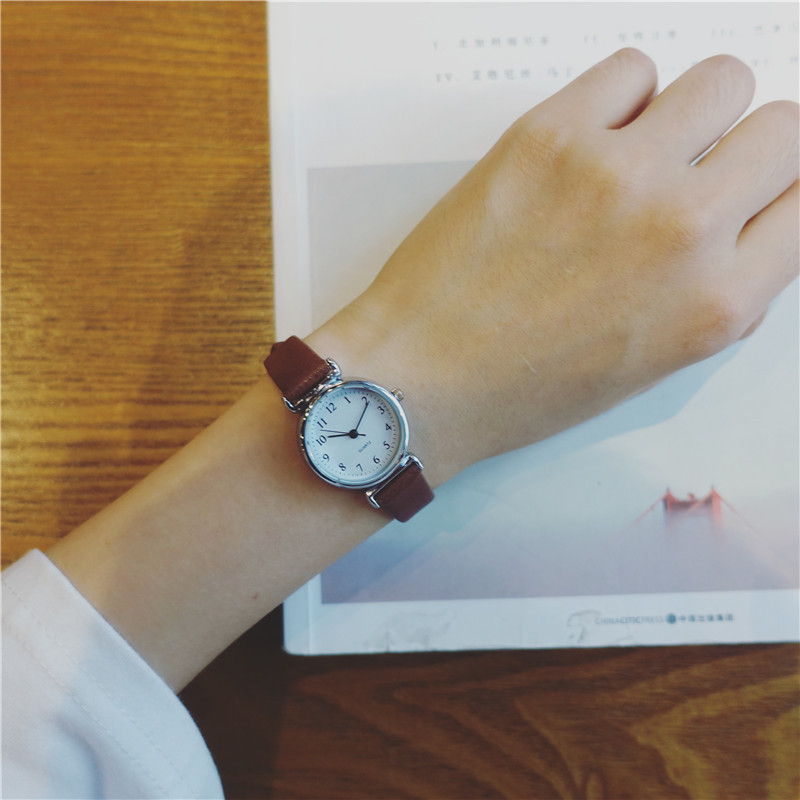 Retro Small Dial Thin Belt Women Watches VNEDYA Delicate Casual Simple Woman Clock Black Brown Leather Quartz Watch Female Hours 10 piece 9 65 110mm ipl shr e light xenon flash lamp