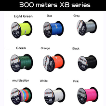 YeMuLang 300M 8 Strands Multifilament 100% PE Braided Fishing Lines For Fishing Accessories Fly Fishing Thread