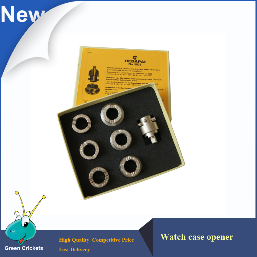 6 Dies / Set 5538 Case Opener Dies Adapter til 5700 Watch Case Opener - Tilbehør til ure - Foto 1