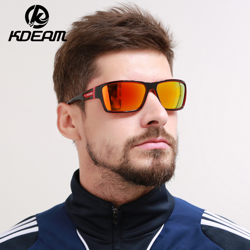 ab16c93f0ef New Listed Polarized Sunglasses Kdeam Glasses Men Eyewear Steampunk Goggles  With Brand Box lentes de sol hombre KD510