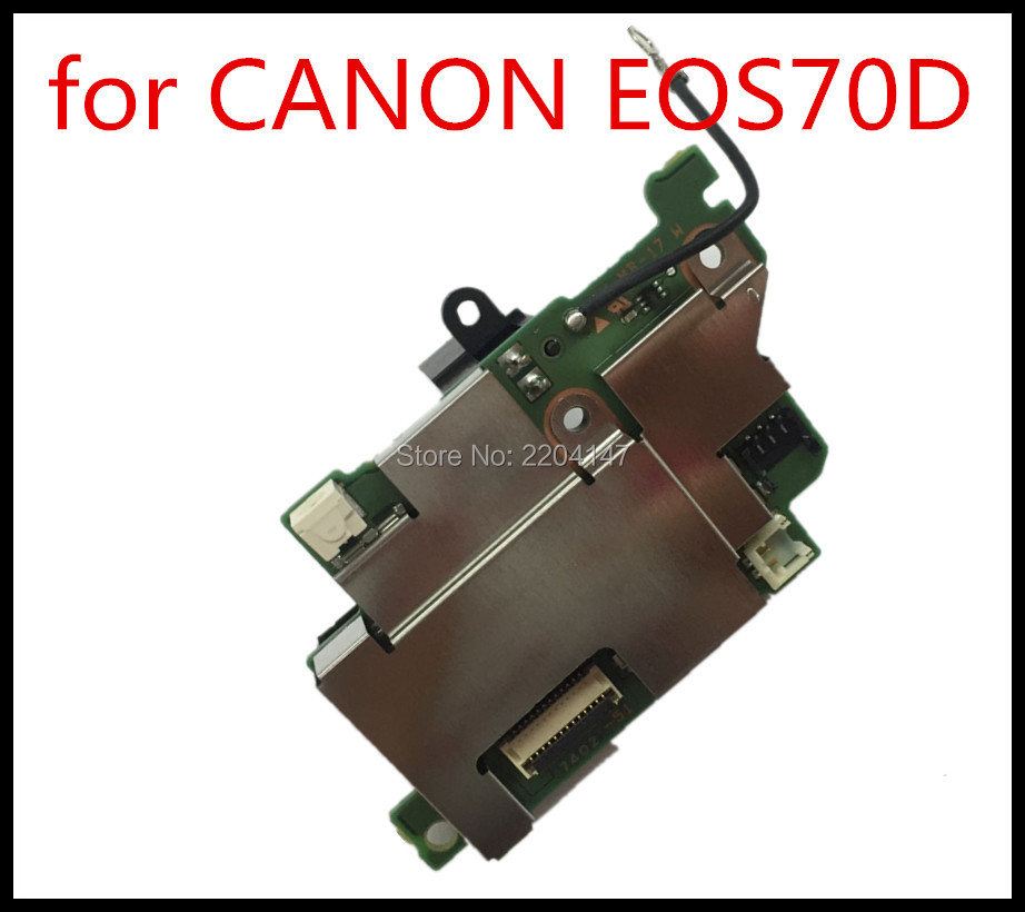 Original 70D Drive Board PCB For Canon 70D POWER BOARD 70D power board ASSY DC/DC repairPart CameraOriginal 70D Drive Board PCB For Canon 70D POWER BOARD 70D power board ASSY DC/DC repairPart Camera