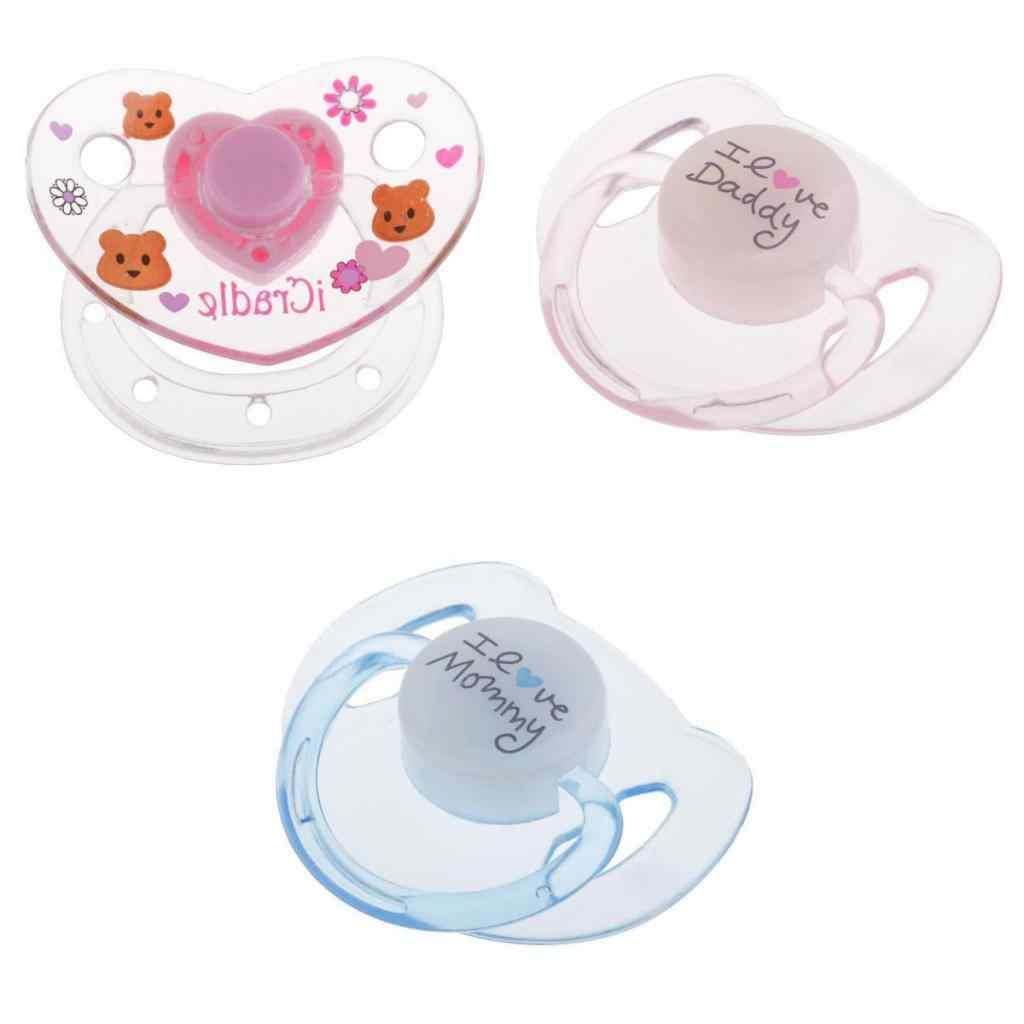 3Pcs Kartun Boneka Magnet Dot Bayi Boneka Perlengkapan untuk Reborn Girl Doll
