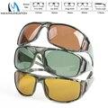 Maximumcatch Quadro Camouflage Pesca com Mosca Óculos Polarizados Cinza Amarelo E Marrom Para Escolher Óculos De Sol De Pesca