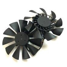 1 пара T129215SU кулер вентилятор для ASUS GeForce GTX 780 DirectCU II GTX780-DC2OC-3GD5 радиатор охлаждения