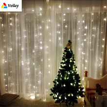 3 Styles Wedding Fairy Light Christmas Garland LED Curtain String Light Outdoor New Year Xmas Birthday Party Garden Decoration,7