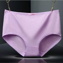 Free Shipping The four seasons fashionable style adds  weight to increase the underpants woman cotton middle waist big ya