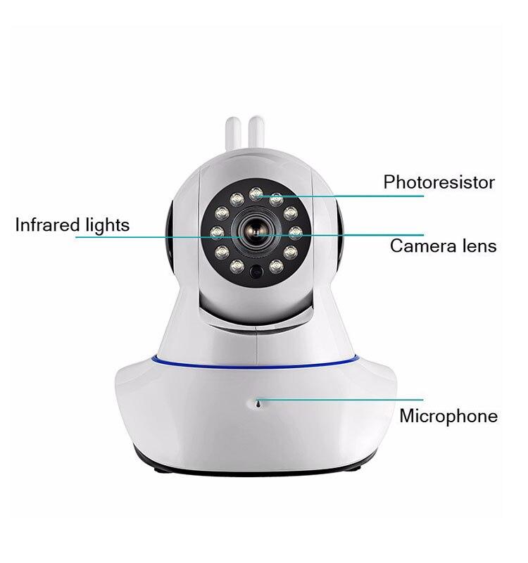 Купить с кэшбэком 2018 Rushed Real 720p Hd V380 Ip Camera Wifi Wireless Network P2p Home Cctv Security For Sale