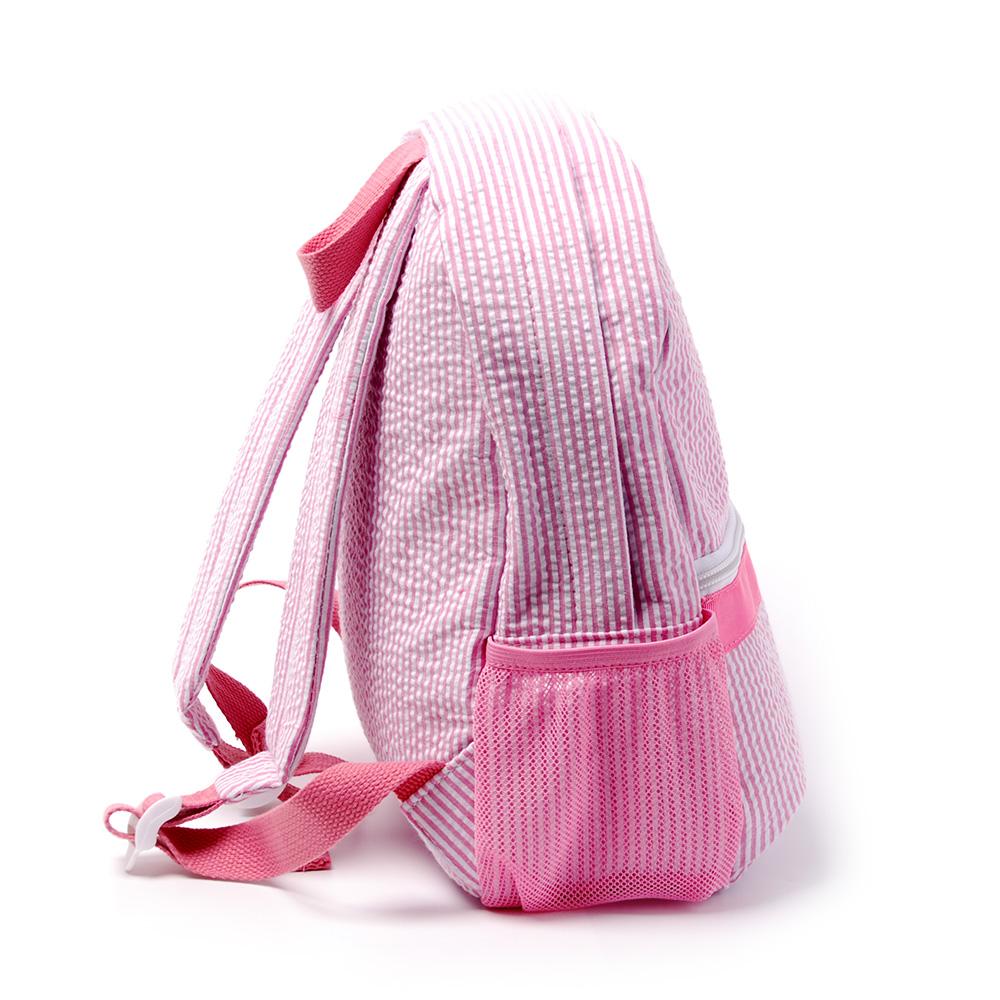 Kids seersucker backpack (1)