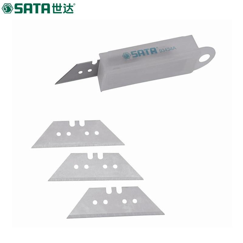SATA (10pcs) trapezoidal blade, utility knife wallpaper blade 93434A utility knife