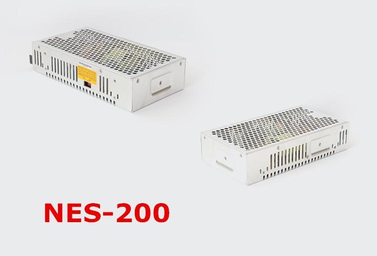 Free shipping 1pc  NES-200-12  204w 12v  17A Single  Output Switching Power Supply цена и фото