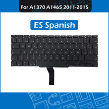 10pcs/Lot A1465 ES Spanish Keyboard for Macbook Air 11″ A1370 A1465 Spain Keyboard Replacement 2011 2012 2013 2014 2015