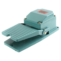 Metal Momentary Contact Antislip Pedal Industrial Foot Footswitch AC 250V 15A