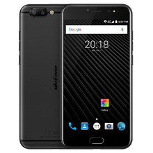 Ulefone T1 4G Phablet Android 7.0 5,5 zoll Helio P25 Octa-core 2,6 GHz 6 GB RAM 64 GB ROM 16.0MP + 5.0MP Dual Hinten Kameras Typ C Fr