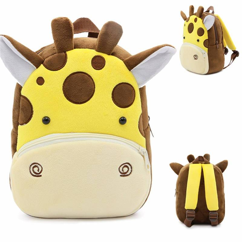 Toddler Baby Children Cartoon Animal Backpack Kindergarten Kids Mini School Gift