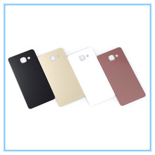 10pcs/lot AAA Top Quality for Samsung Galaxy A5 2016 A5100 Rear Battery Door Back Cover Case Housing Case With Logo Adhesive