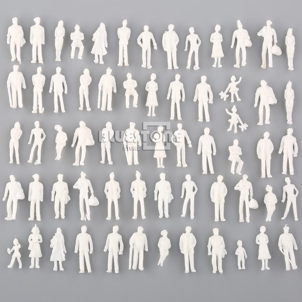 1 Компл. 100 Модель Поезда Люди Рисунок Пассажиры 1:150 HO Масштаб Игрушки Бесплатная Доставка