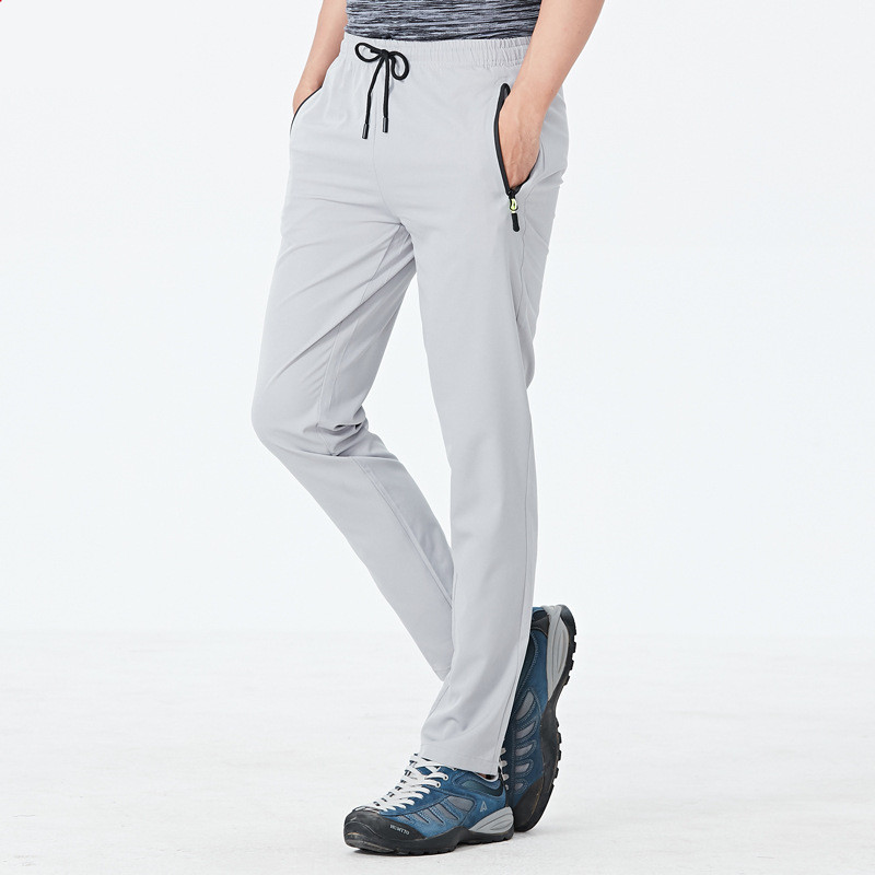 MRMT 2019 Brand Summer Men's Trousers Thin Leisure Large-size Men Elastic Pants For Male Quick-drying Trouser