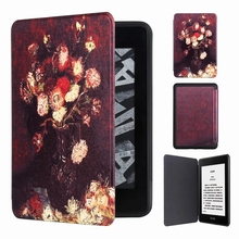 PU Leather Drawing Case for New Amazon Kindle Paperwhite 4 (2018 Release) 6 E-reader Auto Sleep/Wake 2018
