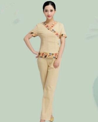 Spa clothing for women beauty spa uniform salon foot tub for Spa uniform alibaba