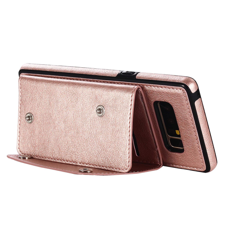 جديد أزياء محفظة بطاقة فليب حامل غطاء ل سامسونج S9 S8 زائد فون X 8 7 6 6S زائد ملاحظة 8 لينة المرونة جلد حالة