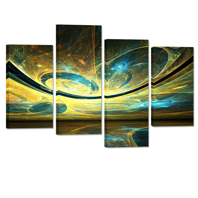 Exceptional Abstract Space Light Canvas Wall Art Decor Creative Painting Prints Home  Wall Decoration Artwork Living Wall