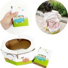 Детский портативный горшок аварийный складной портативный детский туалет для путешествий несущий 30 кг