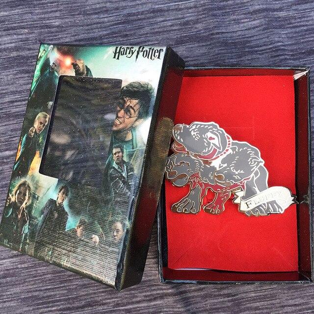 Брошка Fluffy Гарри Поттер в коробке