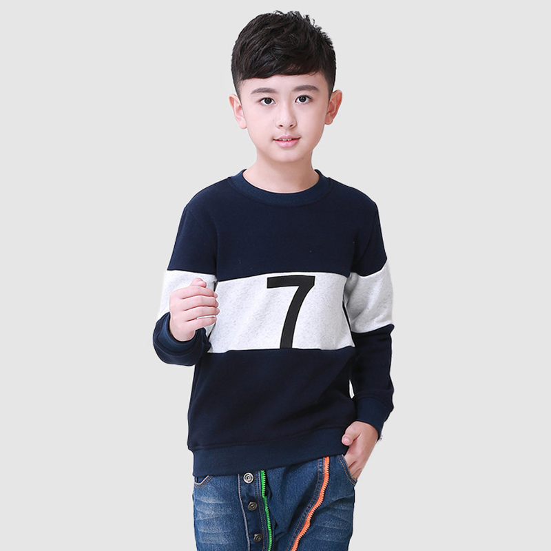 Patchwork Boys T font b Shirt b font Fashion 2016 New Brand Children Tees Cotton 7