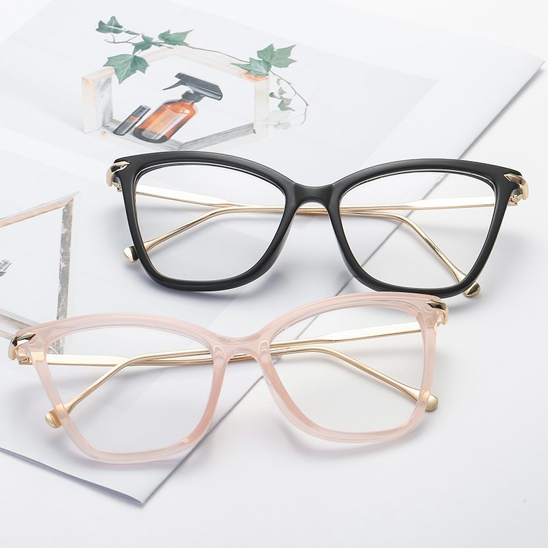 Cateye Sunglasses Women Sun Glasses Transparent Glasses Frame Men Sunglasses Cat Eye Retro Lady Shades Clear Oculos De Sol