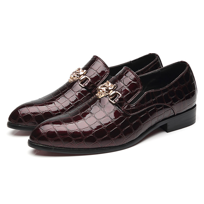 Rugas Couro 68 azul Formal Verão De Sapatos Sociais Designer Elegante Homens Msw8118166 Preto Mens vermelho 28 qgwtxPP
