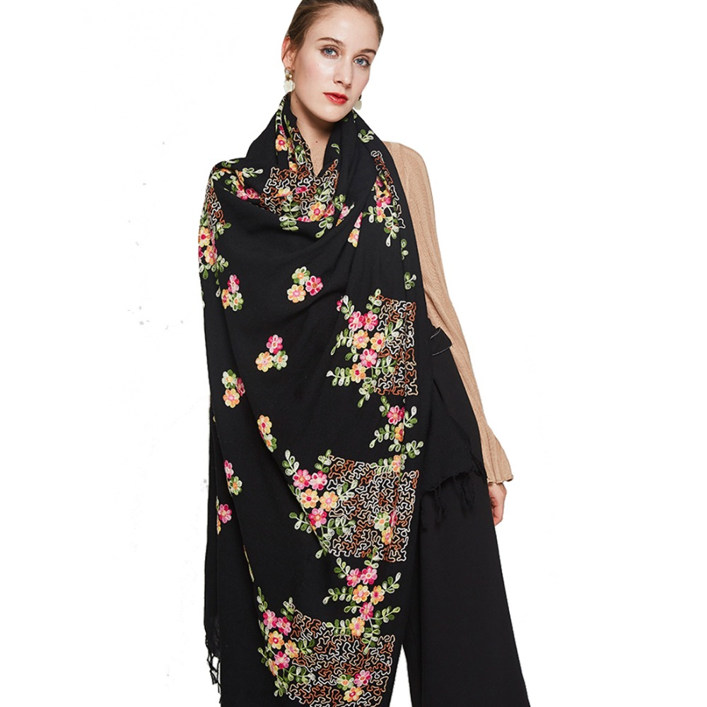 Winter Scarf Women Plaid Blanket Cashmere Pashmina Shawl Fashion Scarves and Shawls Luxury Brand Scarf Tops