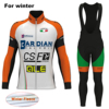 2017 ALE Winter Pro Team Bicycle Jerseys Set BARDIANI Men S Thermal Fleece Bike Clothes Cycling