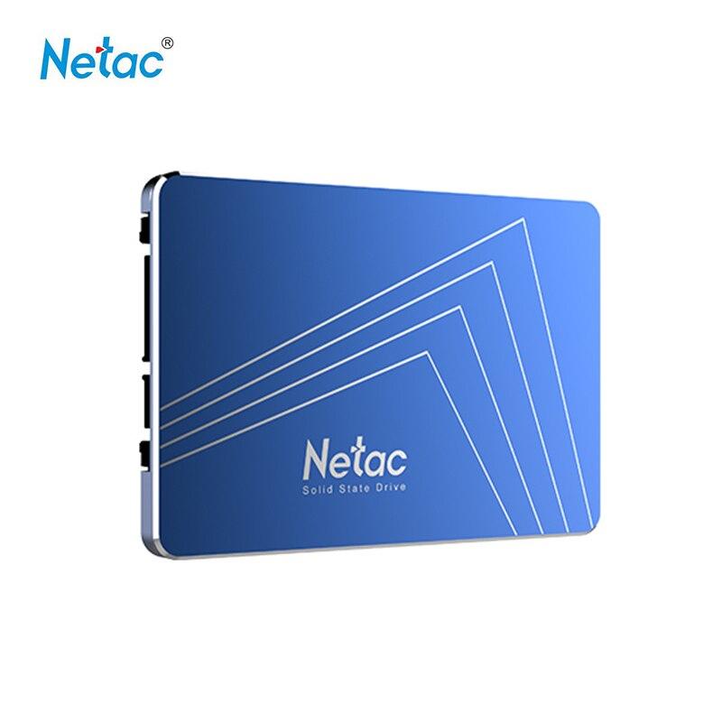 Disque SSD interne Netac N600S SSD numérique 128 GB 256 GB 360 GB 512 GB 1 T disque dur SSD disque 2.5 ''SATA pour ordinateur portable de bureau
