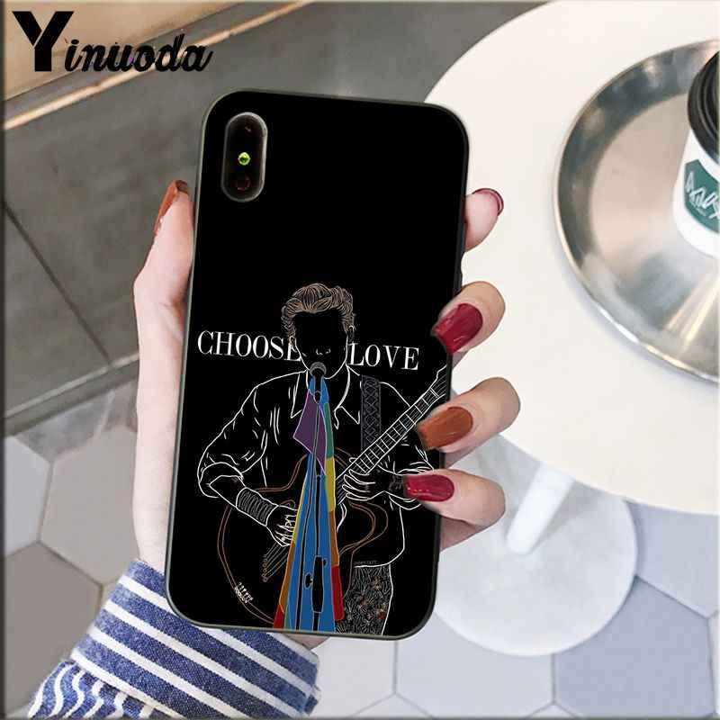 Yinuoda ハリースタイル治療人と親切電話ケース apple の iphone 5 8 7 6 6S プラス X XS 最大 5 5S 、 SE XR カバー
