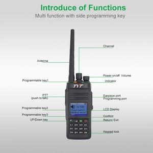 Image 2 - TYT Two Way Radio MD 398 VHF136 174MHz or UHF400 470MHz Walkie Talkie IP67 Waterproof DMR Digital Radio MD398 10W intercom