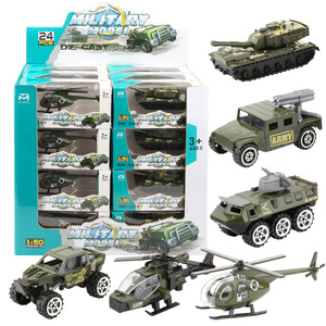 1:50 Alloy & ABS Military Model Simulation Car Car Tank Racing Helicopter Armored Vehicle Diecasts Birthday Gift Toys for Kids(China)